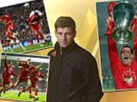STEVEN GERRARD EXCLUSIVE: Liverpool are back in the Champions League... we're hungry and can shock the best in Europe