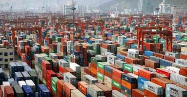 India's export growth slips to 2.35 % at 26.95 billion dollars in Aug